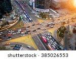 Traffic Speeds Through An...