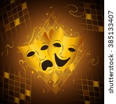 theatrical masks that...