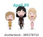 feb 02  2016 game of thrones... | Shutterstock .eps vector #385178713