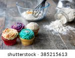 Cupcakes In Front Of Baking...