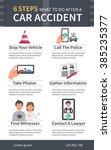 vector  ar accident infographic....   Shutterstock .eps vector #385235377