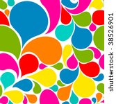 colorful abstract seamless... | Shutterstock .eps vector #38526901
