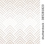 the geometric pattern by... | Shutterstock . vector #385281823