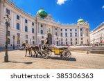 Fiacre  Hofburg  Vienna