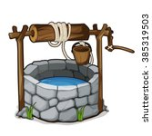 The Stone Well With A Bucket...