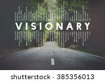 Small photo of Visionary Vision Introspective Strategist Concept