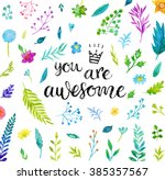 You Are Awesome  Handwritten...