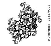 doodle vector illustration... | Shutterstock .eps vector #385379773