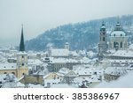 Prague During Winter. The...