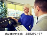 auto business  car sale ... | Shutterstock . vector #385391497