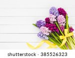 Bouquet Of Hyacinth Flowers On...