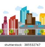 buildings concept design    Shutterstock .eps vector #385532767