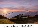 photovoltaic solar energy... | Shutterstock . vector #385553317