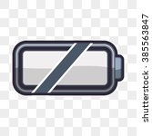 battery icon design  | Shutterstock .eps vector #385563847