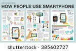 infographic with charts  icons  ... | Shutterstock .eps vector #385602727