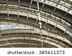 roof made of metal | Shutterstock . vector #385611373