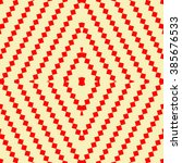 seamless pattern with symmetric ...   Shutterstock .eps vector #385676533