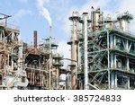 chemical plant | Shutterstock . vector #385724833