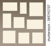 postage stamps   Shutterstock .eps vector #385742737