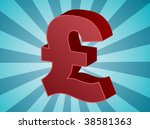 british uk pounds currency... | Shutterstock .eps vector #38581363