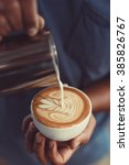 Coffee Latte Art Make By...