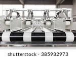 conveyer belt close up | Shutterstock . vector #385932973