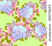abstract elegance seamless... | Shutterstock . vector #385978693