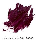 smudged lipsticks texture... | Shutterstock . vector #386176063