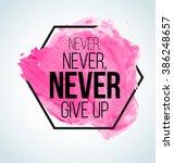 modern inspirational ... | Shutterstock .eps vector #386248657