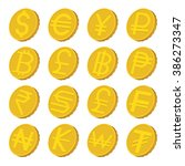 Stock vector currency icons set currency icons art currency icons web currency icons new currency icons www 386273347