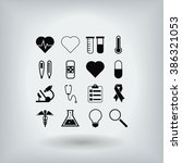 medical icons | Shutterstock .eps vector #386321053