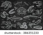 Seafood Menu  Octopus  Mussels...