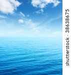 blue sea and sky | Shutterstock . vector #38638675