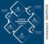 business infographics vector... | Shutterstock .eps vector #386399143