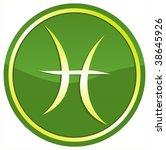 zodiac sign   pisces | Shutterstock . vector #38645926