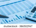 accounting financial banking... | Shutterstock . vector #386502967