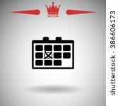 calendar with mark.