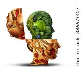 nutrition change healthy... | Shutterstock . vector #386679457