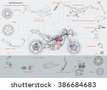 Motorcycle Structure Parts....