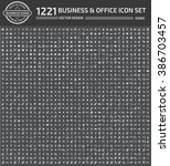 1221 business and office icon...   Shutterstock .eps vector #386703457