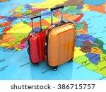 Travel Or Tourism Concept....