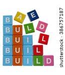 multicolored letters           ...   Shutterstock . vector #386757187
