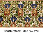 Small photo of seamless decoration of traditional arabesque motifs