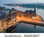Antwerp City  Aerial View...