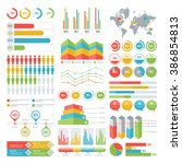 infographic elements | Shutterstock .eps vector #386854813