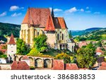 biertan  transylvania....   Shutterstock . vector #386883853
