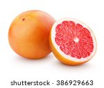 Grapefruit citrus fruit with...