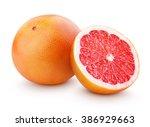 Grapefruit Citrus Fruit With...
