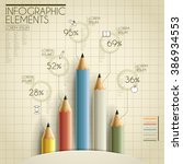education infographic template... | Shutterstock .eps vector #386934553