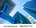 skyscraper office business... | Shutterstock . vector #386962753